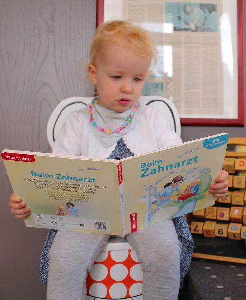 Buch für kleine Patienten